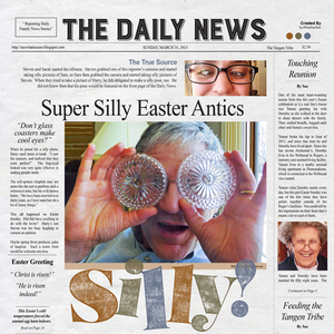 Super Silly - Front Page - June ScrapSimple Club