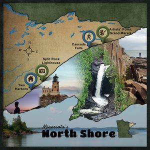 "Minnesota's North Shore - ""Outstanding Elements"" shadow tutorial"