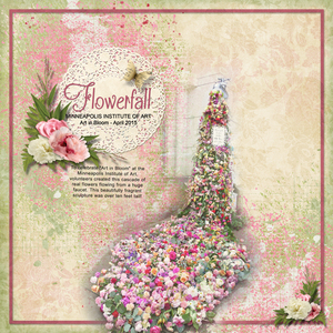 Flowerfall - Tiny Moments by Ginny Whitcomb