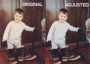 Big Boy Boots - Before and After