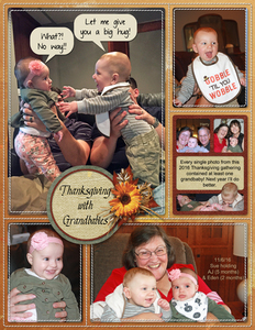 Thanksgiving with Grandbabies