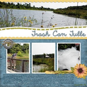 Monday Challenge 8/19. Trash Can Tulle