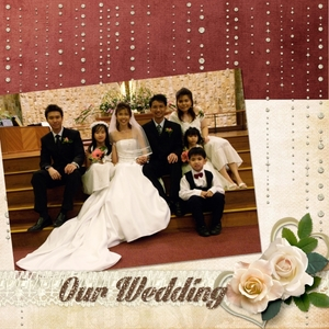 Wedding Album Cover