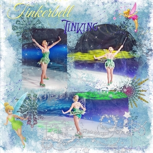 Friday Scraplift - 10/18 - Tinkerbell Tinking