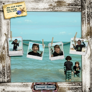 April SS Club - Sunset Beach - Instant Photo Clusters