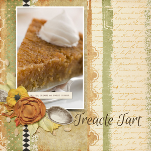 Thursday Challenge - Treacle Tart