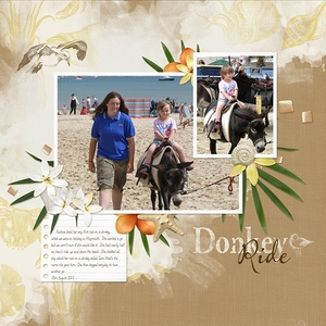 Week Four - Donkey Ride