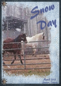 April ATC - Princess & Savanah