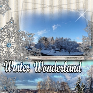 Friday Freebie--- Winter Wonderland