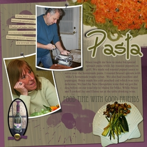 Tuesday Freebie Challenge---homemade pasta