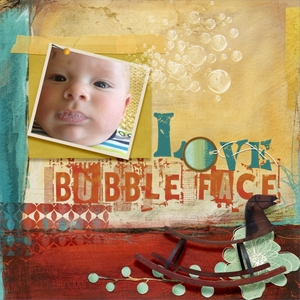Thursday Challenge Love Bubble Face