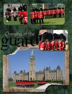 Changing of the guard Parliament Ottawa