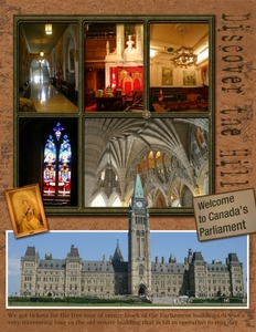 Parliment building in Ottawa