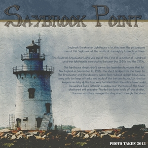 Saybrook Point lighthouse
