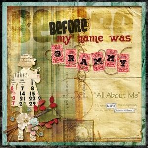 All About Me--My title page