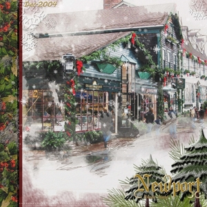 Saturday Color Challenge-Christmas In Newport