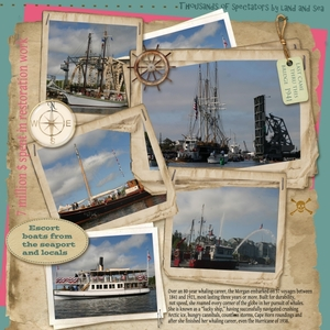 Last wooden whaling ship