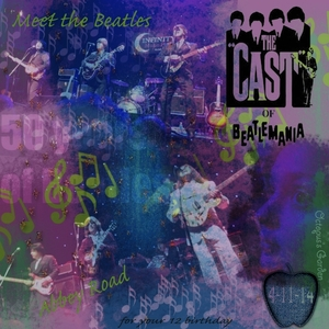 Saturday Color Challenge---Beatlemania