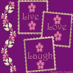 Live, Love & Laugh