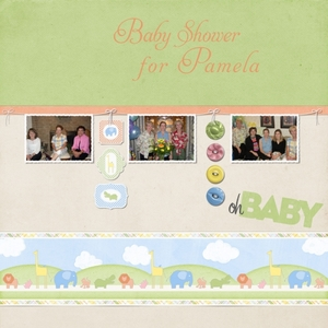 Baby Shower For Pam Web