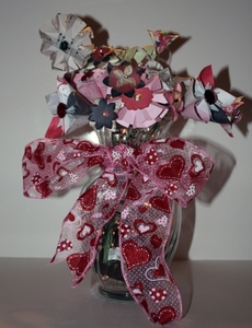 Valentine Paper Flower Bouquet