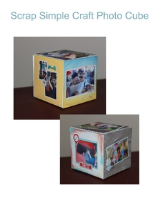 Photo Cube Craft
