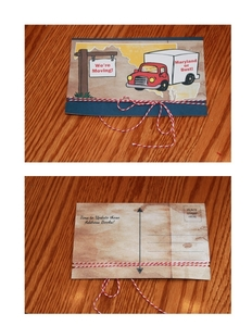 Post Card Moving Cards