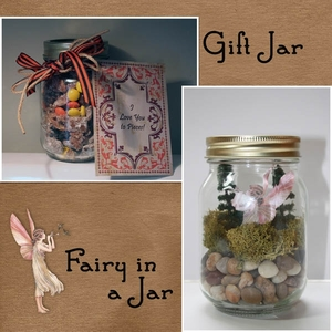 Hybrid Craft Gift Jars