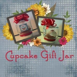Hybrid Craft Cupcake Gift Jar
