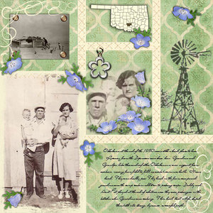 The Early Oklahoma Years - Wood 1930s
