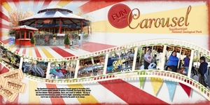 Carousel Ride - double page