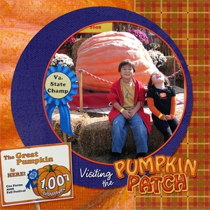 Pumpkin Patch, cover