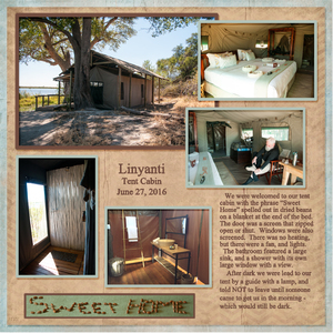 Linyanti Tented Camp, left