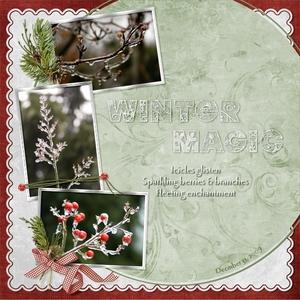 Winter Magic - Sept. Slow Scrap Week 1