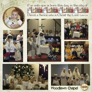 2009 Christmas Pageant