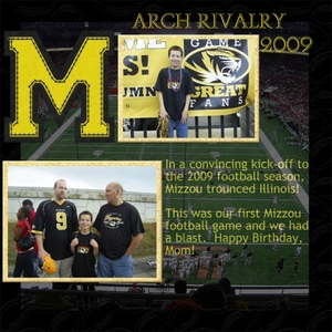 Mizzou Arch Rivalry