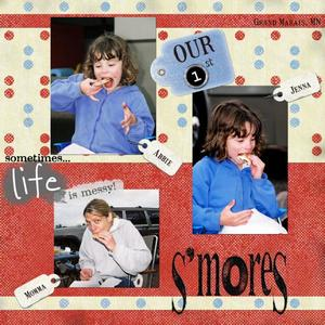 Our 1st S'mores