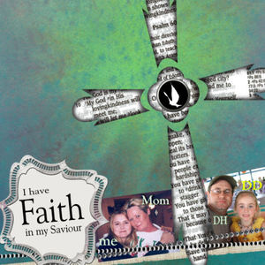 I have FAITH in my Saviour LO; Faith Journey Chat