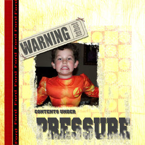 Warning! Contents Under Pressure!!!