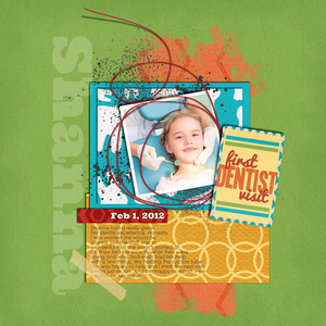 Pocket Life: Toothless Embellishment Special Layout