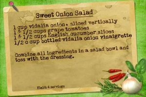 Vidalia Onion Salad