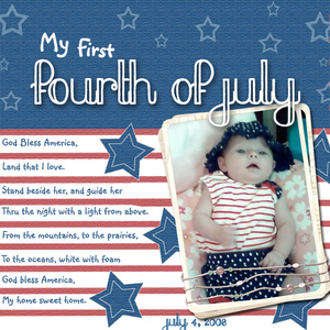 My 1st Fourth of July