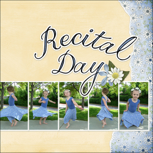 Recital Day - Right Side