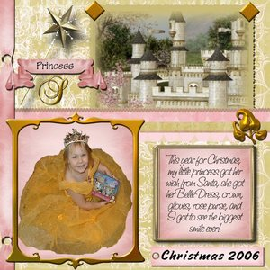my princess creation using your products
