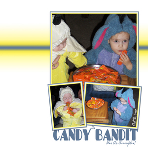 Super Bowl Ad Inspiration Challenge - Candy Bandit