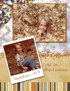 Heather In The Leaves