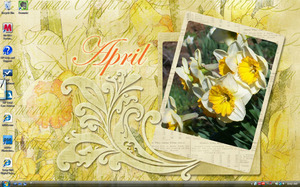 April Laptop Desktop