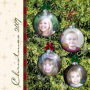 Christmas Ornaments 2007