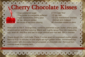 Cherry Chocolate Kisses