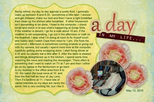 Assignment 4 - A Day In My Life